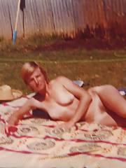 My ex-wife posing