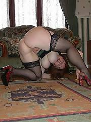 Horny woman with
