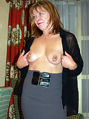 My mom doing some public flashing, damn what a drilling whore she is, im paranoid shell give it away some time