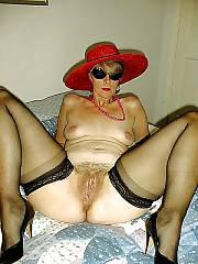 Posing in her hot