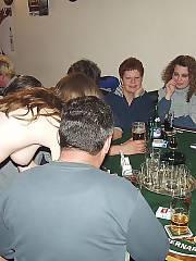 Irish pub wife enjoys