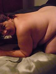 Home toy and masturbation show - paula plays with her pussy... - ...and one fat twat it is...!