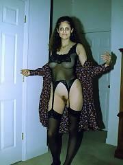 Horny wifey posing