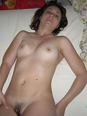Wife with a unshaved