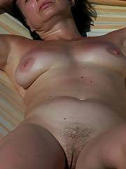 Wifey sunning herself