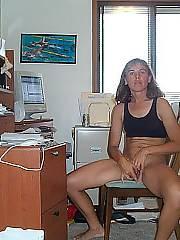 Sexy wifey in underwear