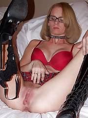 Hot fetish mom finger