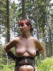 Bbw mature corinna in an outdoor fun.
