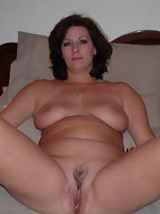 Adorable sweet mom