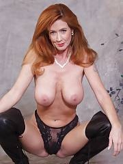 Redhead mother