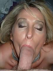 Mom likes the blowage