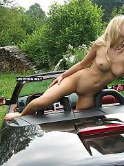 Sexy blonde mother