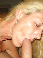 Hot blondie mature
