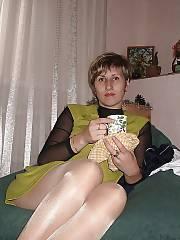 Voyeur on wifey in stockings.