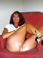 Open minded MILF spreading her nice pussy.