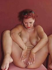 Sexy redheaded mature