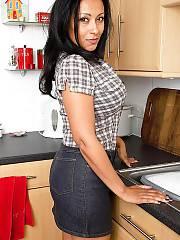 Curvy mature donna ambrose 4