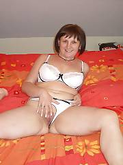 Hot mature mom strips