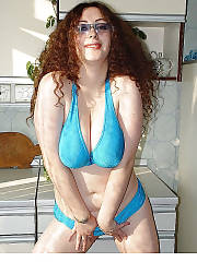 Sexy & busty mother