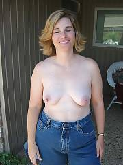 Hot sexy mom undresses