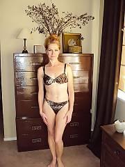 Hot wife in bra