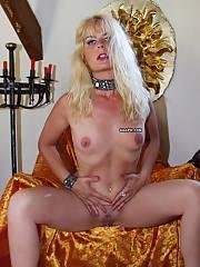 Blonde mature bitch
