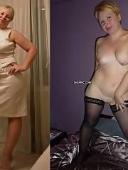 Dressed/undressed mature