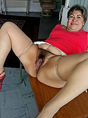 Mexican fat mature bitch
