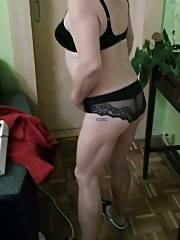 My wifey in erotic lingerie