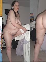 Amateur fat slut wife Brenda Wilcox Dressed & Undressed