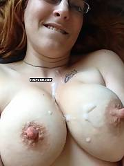 Lovely chicks and mature ladies take facial cumshots on their faces, pussies and rectal holes after passionate xxx
