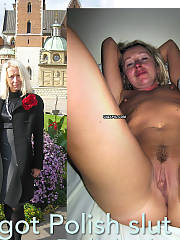 Margot Polish wifey before & after