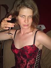 Swedish housewife Helena drunk BJ