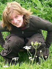 Kirsten the red hair slut Amateur Hairy MILF