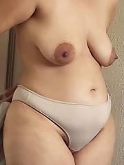 My wife Amateur MILF big Boobs