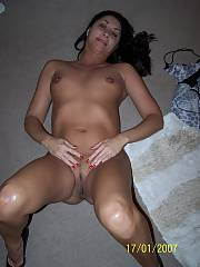 Sexy coonass exhibitionist from louisiana - shed send me movies and pics of her all the time stuffing herself with toys and things