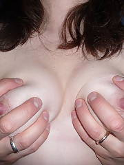 My naked wifey exposed.  she wouldnt show her face but she had no problem exposing some pink...hope you enjoy.  i sure did