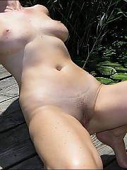 My wifey loves being in the sun and basking away in the rays.  she likes it even more when she can be totally naked and BJ me off from time to time