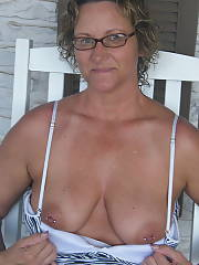 Country bumpkin - here is a few photos of my wife janine.  she helps me in the fields when i work and sometimes pick crops totally nude!!!