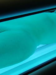 My ex nikki - she is tanning her luscious body and i convinced her to let me sneak in and film and take some pics
