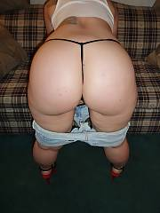 Heres a set of pics of my hot bbw wife bridgette.  i told her how much i wished nude pics of her.  this is as close as i got