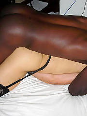 Shes all for the black penis - ex sleazy wife takes on huge black cocks.  we used to swing and here are some of the photos