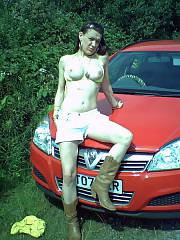 Exhibitionist sasha part 1 - she likes ge4tting naughty and wild in daylight public.  even likes to fuck sometimes in broad daylight