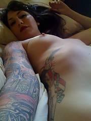 Tattooed whore of