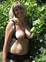 Hot wifey - photos i took of my wifey at my buddies farm.  we were house sitting and we got bored lol...