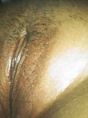 Swollen korean sleeping pussy - my new lady friend i met online.  she stayed over the first night and i got mine
