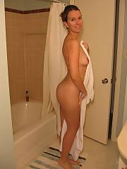 All american housewife part 1 - here is the first of a few of my sexy wifey charlene.  shes my trophy wifey