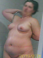 Chubby bbw shower selfie