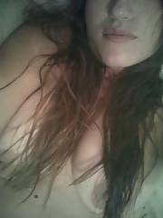 One sexy mama! swallows cause she likes cum!  this sexy hispanic swallowed everytime i hit it, she is a real freak!