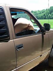 Outside truck -